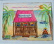 "Local Rumshop & Fish Seller, 8""x 10""    Can.$150.00 incl. easel"